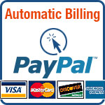 Paypal / Credit Card Payment